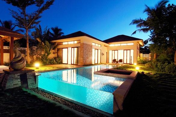 【图】洱海维景国际传奇蜜月花园别墅_亚龙湾短租公寓豪华别墅三亚8超泳池图图片