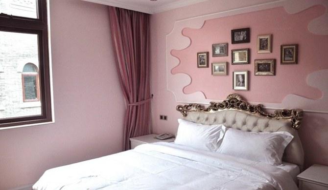 惠州海洋主题酒店柏拉图粉色大床房