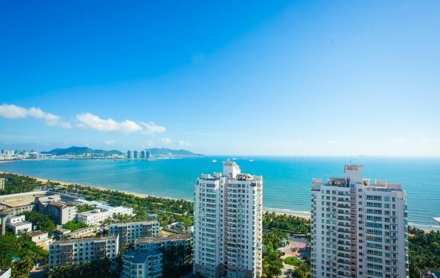 三亚三亚湾碧海蓝天小区酒店式公寓图片:三亚海辰阁双