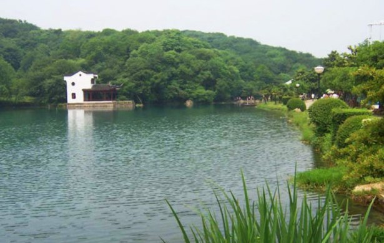 扬州仪征登月湖景区农家乐大床房