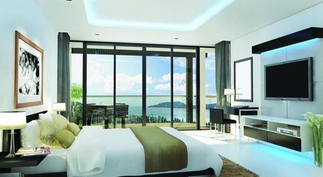 普吉岛住宿 豪华海景公寓 一居室   此房型有2套,实际入住与此可能略