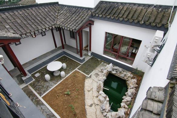 苏州欢墅东山吴地雅舍中式四居别院图片